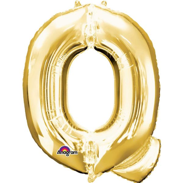 SuperShape Letter Q - Gold